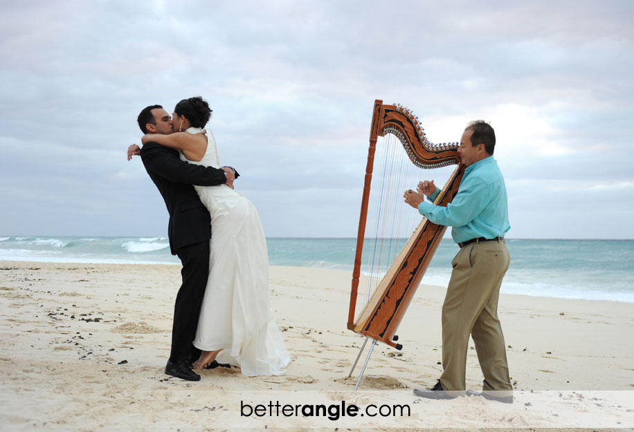 Intimate Wedding Ceremony at RitzCarlton Grand Cayman