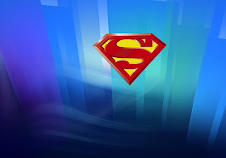 Superman free wallpapers posters Superman Logos in Crystal Kryptonite Landscape backgrounds