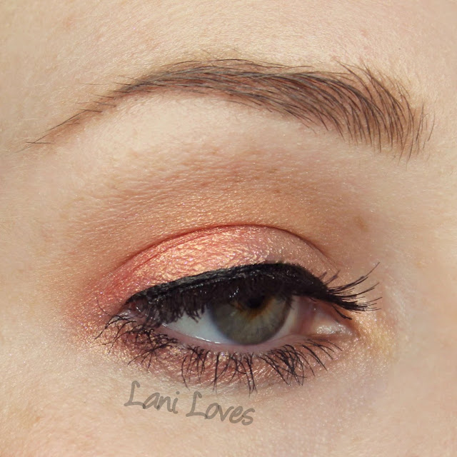Corvus Cosmetics Fire Gang eyeshadow swatches & review