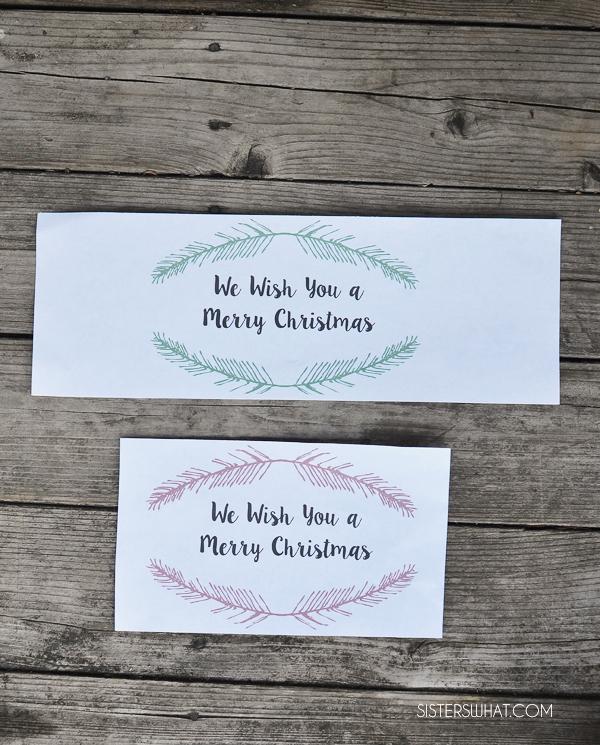 Christmas Neighbor Gift ad Printable