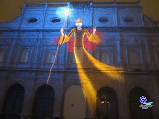Mapping en Sevilla - Navidad 2013