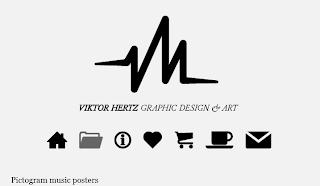 http://www.viktorhertz.com/50717/439428/gallery/pictogram-music-posters