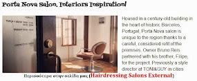 Porta Nova Salon. Interiors Inspiration!