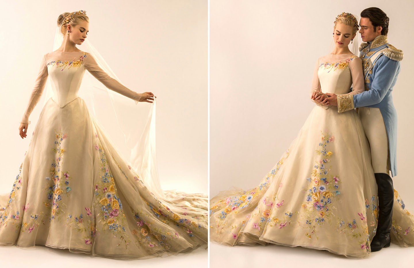 Surlalune fairy tales blog so i saw disney 39 s cinderella 2015 for Cinderella wedding dress up