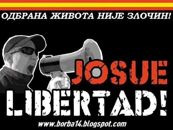 JOSUE LIBERTAD!