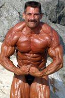 Daddy Hunks - Mal Master Bodybuilding in Sexy Posing Trunks