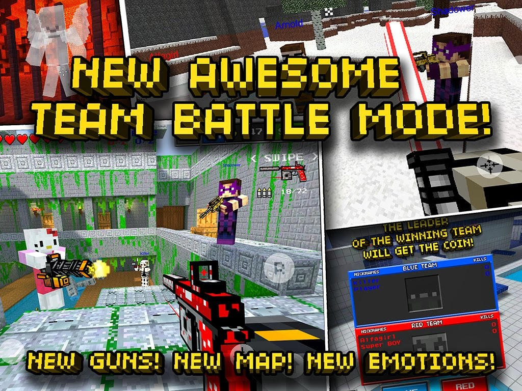 Pixel Gun 3D PRO Minecraft Ed V4 6 3 APK DATA Full Download