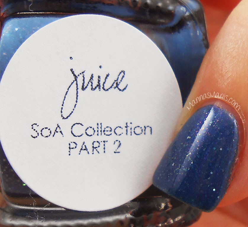 bliss polish juice, blue polish