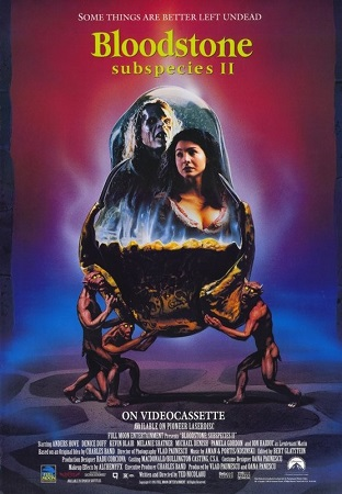 Poster Of Bloodstone Subspecies II 1993 Dual Audio 720p BRRip [Hindi - English] Free Download Watch Online