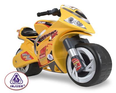 JUGUETES - Correpasillos Moto Winner | Injusa  Producto Oficial | Injusa 194 | Comprar en Amazon
