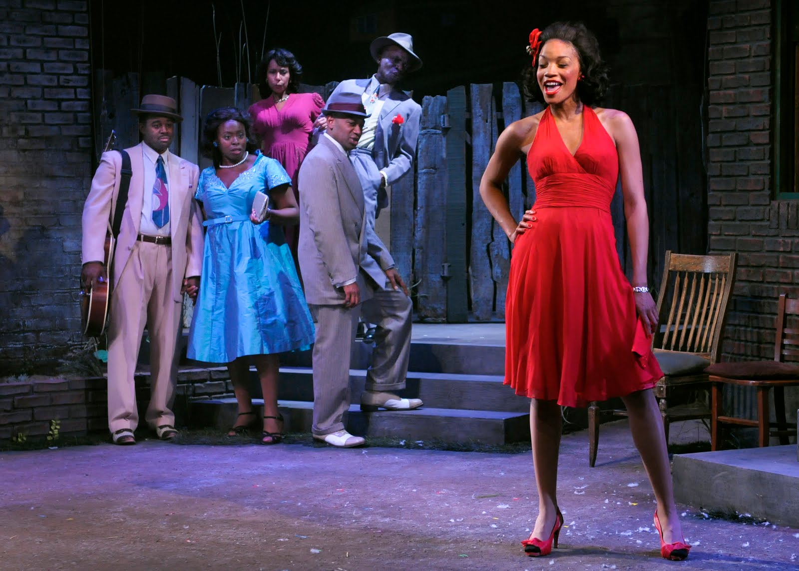 seven guitars August wilson has come home the late, great playwright's seven guitars opened friday in the backyard of his childhood home in the hill district, just as.