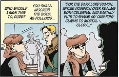 Doonesbury, Friday January 13 2011.