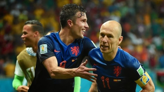 Brasil vs Belanda