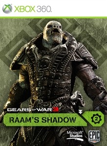 cover xbox360 de l'extension de jeu raam shadow gow