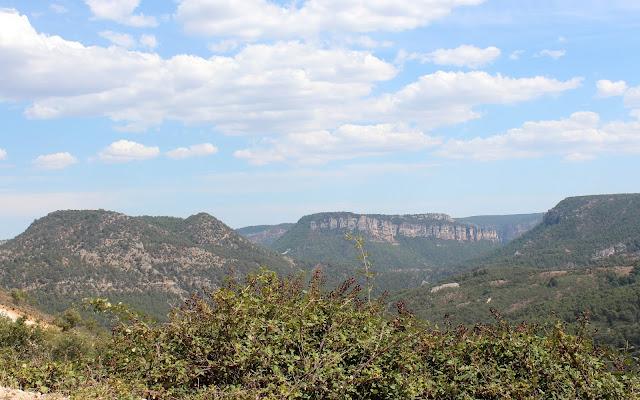 Vistas desde Peñalén en el Alto Tajo