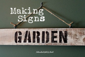 What to Do With Old Scrap Wood? Make Signs of Course! - Adirondack ...