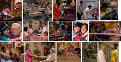 Fotogramas de la serie infantil Punky Brewster