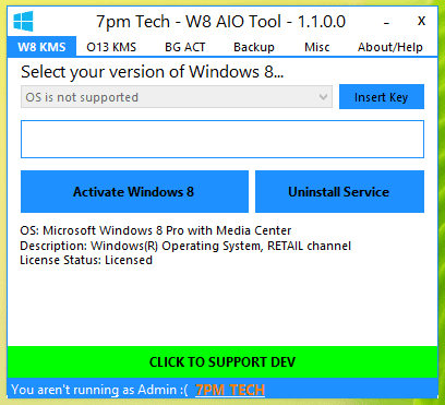 windows 8 key activator