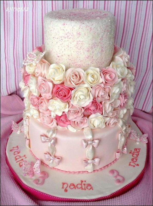 Simple Cake Designs For Girl Birthday : Easy Girls Birthday Cakes Ideas - To Make
