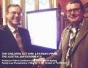 Professor Parkinson, Sydney University - seminar paper on the 'Australian experience'