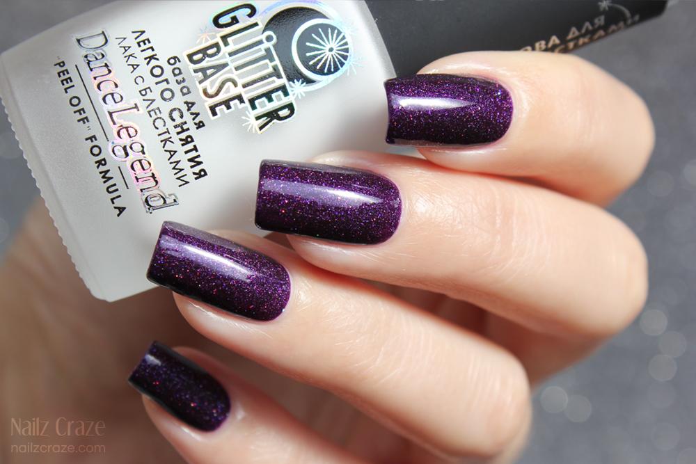 Dance Legend Glitter Base Review - Nailz Craze