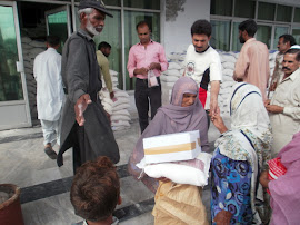 Distribution of Food Packages at BIT Hospital