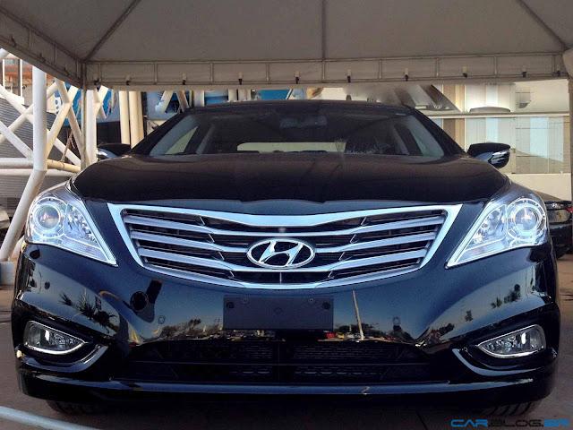 Hyundai Azera 2013 - grade frontal