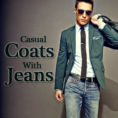 New Combination of Coat-Jeans
