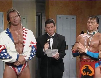 WWF / WWE - Summerslam 1994: Todd Pettengill reveals the results of an opinion poll into whether Lex Luger sold out to the Million Dollar Man