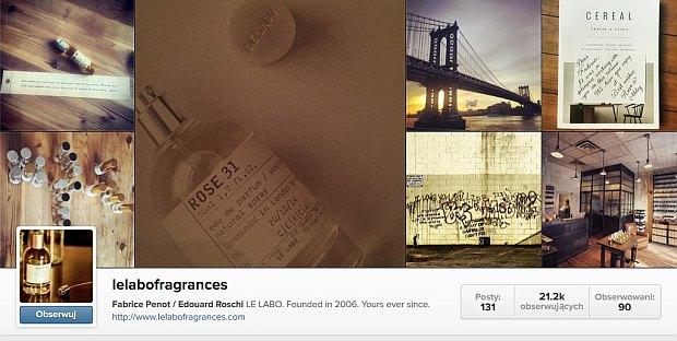 Instagram Le Labo