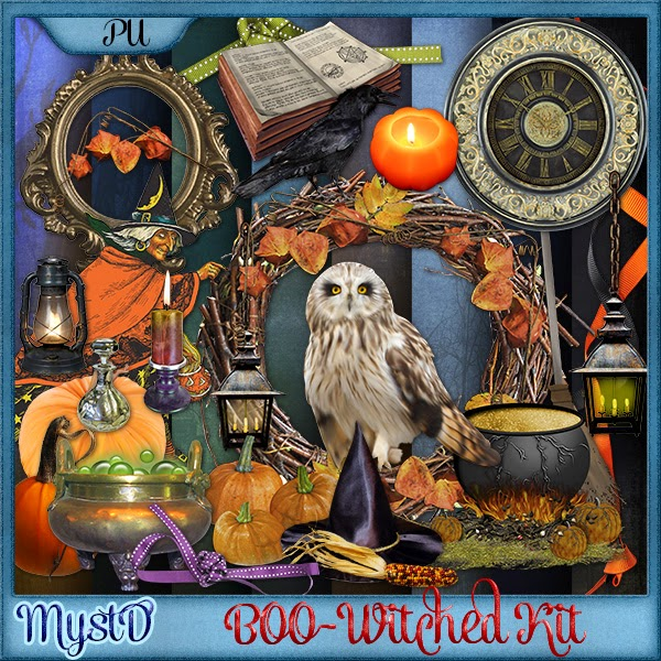 Boo-Witched Kit