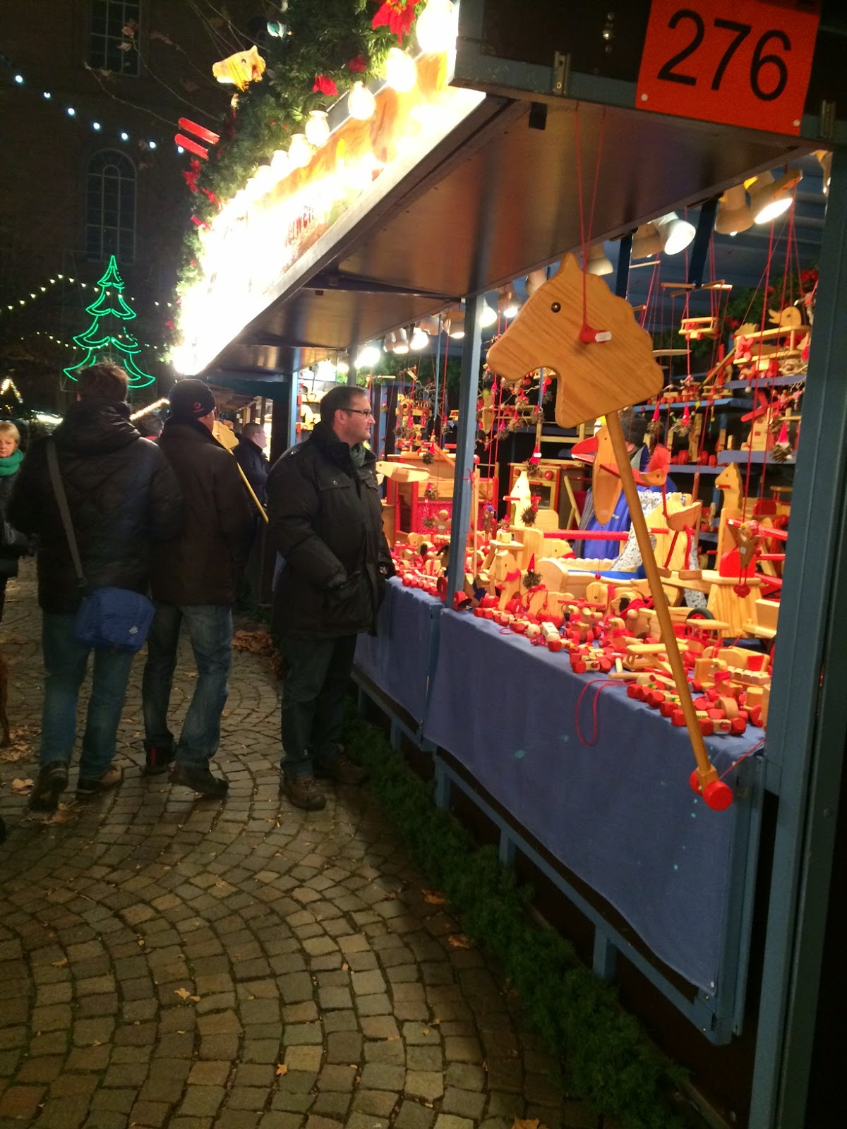 Mercado navideño en Frankfurt