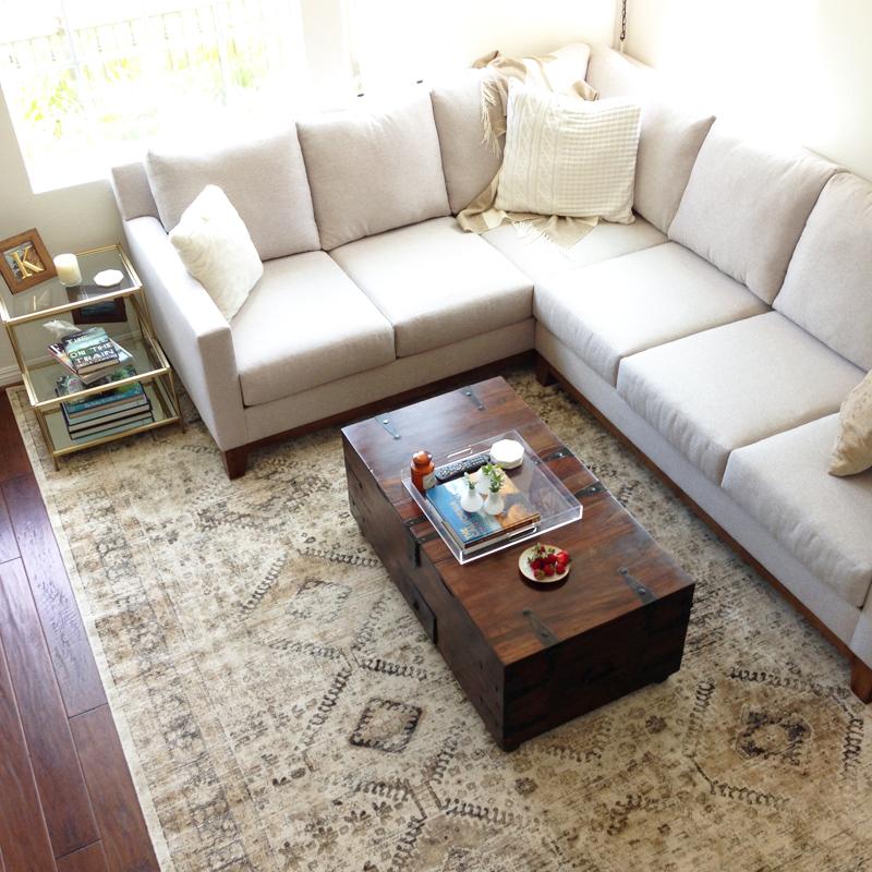 neutral living room decor