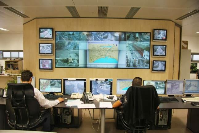 M laga la roja 71 c maras de vigilancia para controlar el - Oficina de trafico en malaga ...