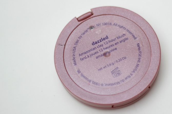 Dazzled, Tarte Amazonian clay blusher