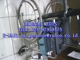 kursi roda baru yang enteng atau ringan jika di bawa-bawa