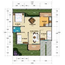 Desain dan denah rumah