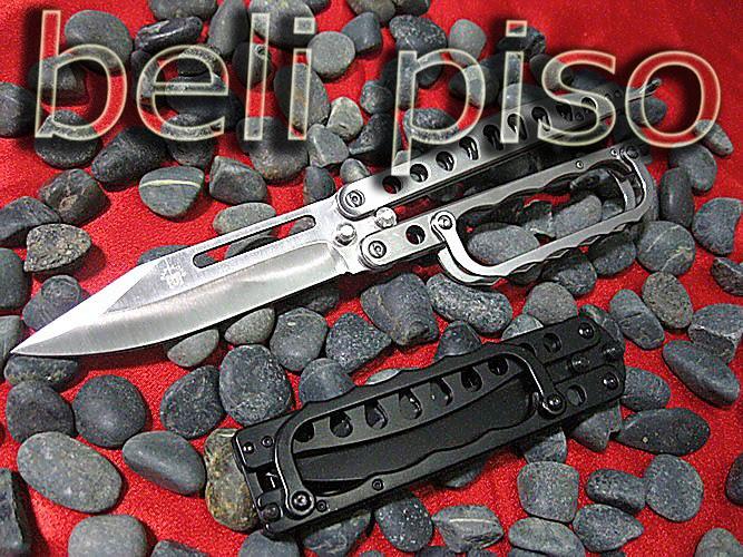 Jual Papillon Balisong Knuckle belipiso.com