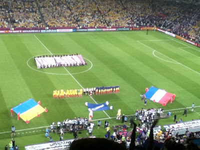 Ukraine v France, Donbass Arena, Donetsk