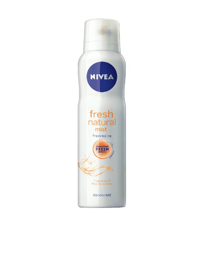 PR:New Nivea Fresh Natural Mist for Women