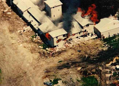 The FBI Attacked Men, Women, and Children With Tear Gas in Waco in 1993
