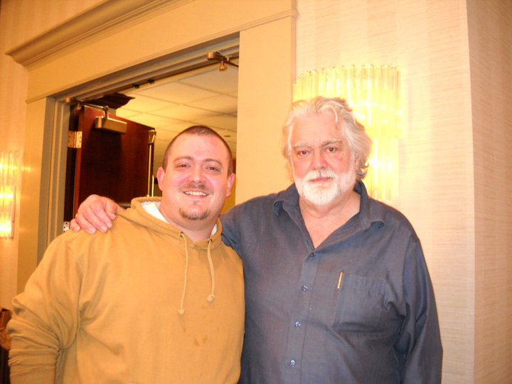 My brother-in-law with Leatherface himself, Gunnar Hansen