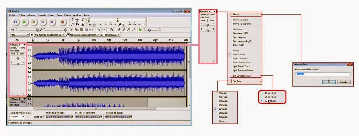 Audacity-Controlador de som