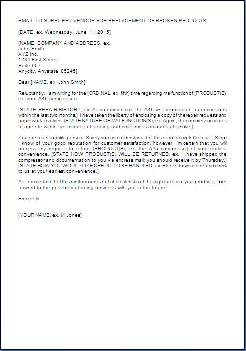 Complaint Letter Example For Bad Product 12 Letter Of Complaint – Product Complaint Letter Sample