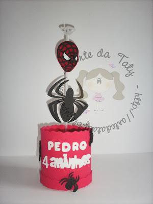 centro-de-mesa-homem-aranha