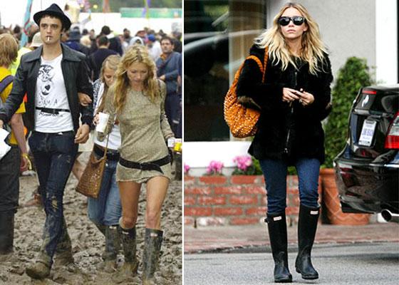Hunter Rain Boots Celebrities