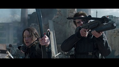 The Hunger Games: Mockingjay - Part 1 (Movie) - 'The Mockingjay Lives' Trailer - Song / Music
