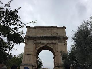 Arc de Tibère sur le Forum - Rome