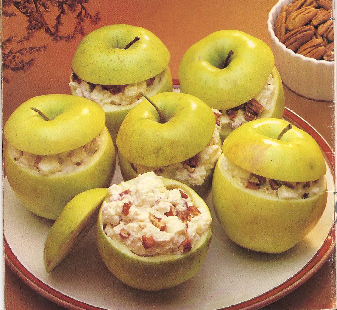 El gourmet urbano recetas manzanas heladas con crema de - Pure de castanas y manzana ...