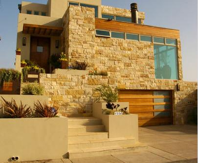 Fachadas de casas abril 2013 - Piedra rustica para fachadas ...
